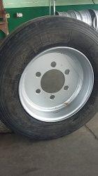 Безкамерна джанта за тракторно ремарке 17.5 цола с гума