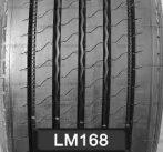 LongMarch 385/55R22.5 LM168 160J ПРЕДНА И  РЕМАРКЕ